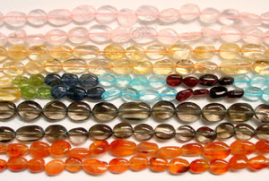 Gemstone - Flat Oval