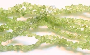"Peridot  - Chips 36""    4-6mm"