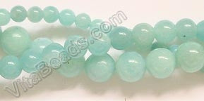 Amazonite A - Smooth Round  16""