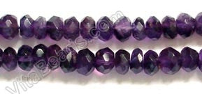 Amethyst (Dark)  -  Faceted Buttons 14""