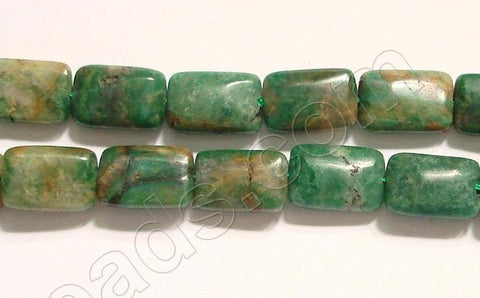 Africa Jade (w/ Brown)  - Puff Rectangle 16""