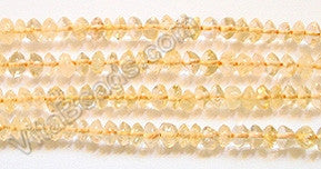 Citrine  -  Plain Button 14""