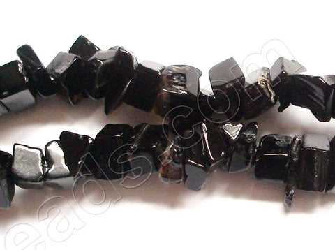 Black Agate -  Chips 36""