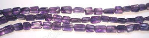 "Amethyst Dark -  Brick  14""    3.5 - 6 mm"