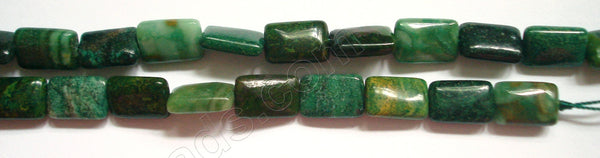 Africa Jade - 8x12mm Puff Rectangle 16""