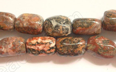 Leopard Skin Jasper - Medium Smooth Nuggets  16""