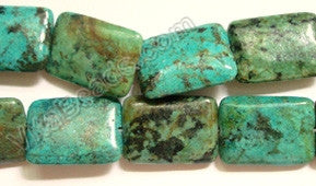 Africa Turquoise  -  Puff Rectangle 16""