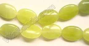 Olive Jade   -  Puff Ovals  16""