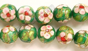 Cloisonne Round Beads