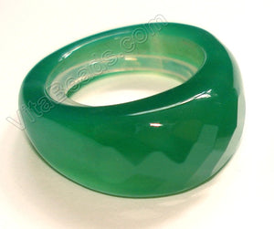Green Onyx Ring Light Emerald