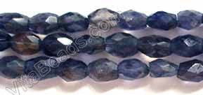 Iolite  -  Faceted Oval  14.5""