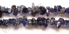 "Iolite  (India Made)  -  Chips 36""    5 - 7 mm"