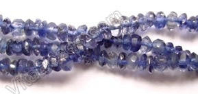Iolite AA  -  Faceted Buttons  14.5""