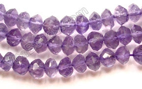 Amethyst (Light)  -  Faceted Buttons 14""