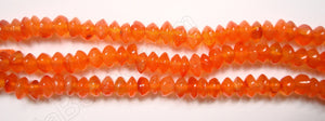 Carnelian  -  Plain Button  14""