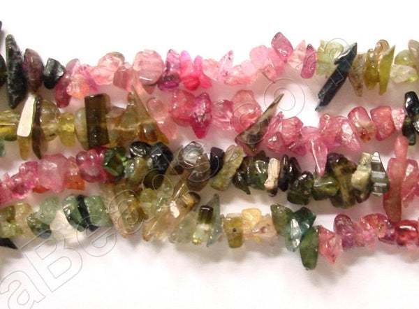 "Tourmaline (India Made)  -  Chips  36""    4 - 6 mm"