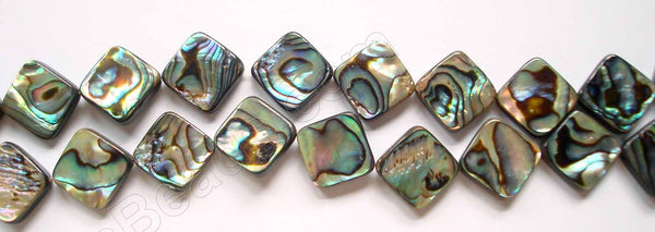 Abalone  -  Flat Diamond  16""