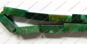 Africa Jade  -  Cubiod Rectangle 16""