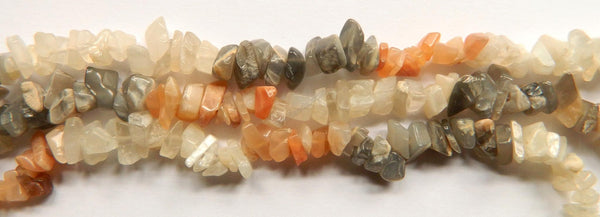 Multi Mixed Moonstone  -  Chips 36""
