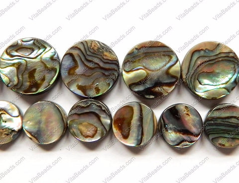 Abalone - Flat Coins 16""