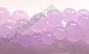 Rose Purple Jade  -  Smooth Round  16""