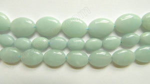 Amazonite  -  Puff Oval 16""