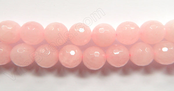 Rose Quartz  - Faceted Round