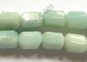 Amazonite  -  12x16mm Machine Cut Tube Nugget  16""