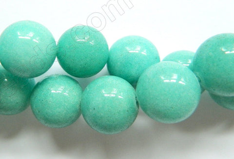 Amazonite Jade  -  Smooth Round