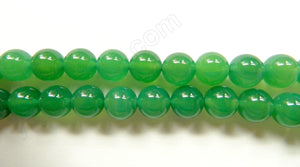 Opaque Sea Green Onyx   -  Big Smooth Round  16""