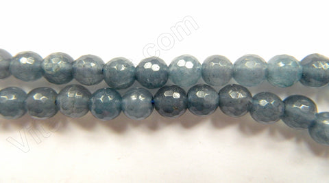 Iolite Blue Jade  -  Faceted Round  15""