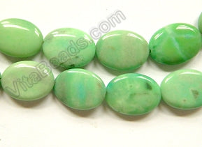 Australia Green Chrysophase  -  Puff Ovals  16""
