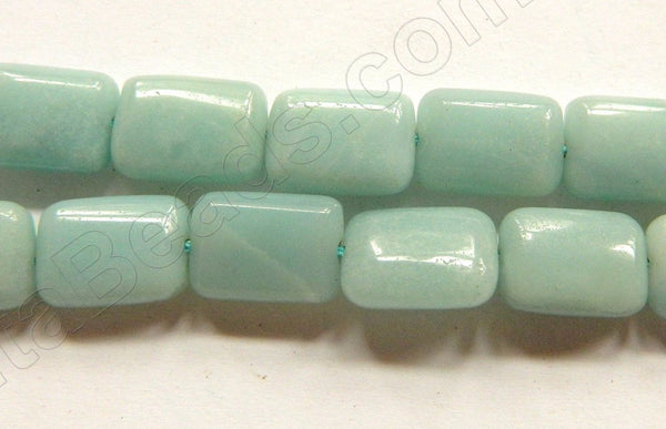 Amazonite A  -  Puff Rectangle 16""