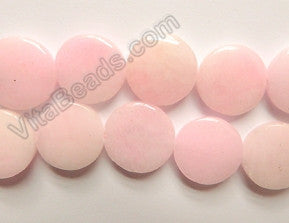 Hemimorphrite Pink  -  18mm Puff Coins  16""