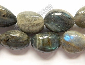 Labradorite A  -  Big Smooth Tumbles  16""