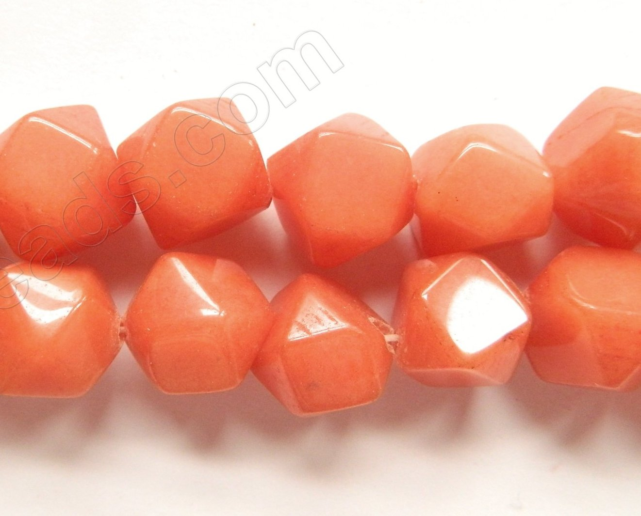 Orange Jade  -  Rose Cut Nuggets  16""