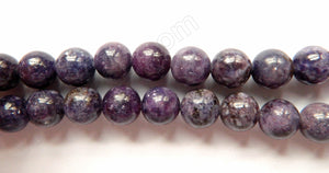 Lepidolite Dark  -  Smooth Round  16""