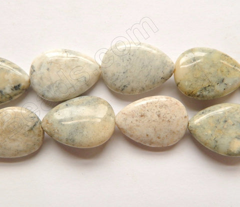 Grey Africa Opal  -  Puff Drops  16""