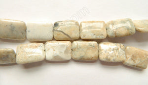 Grey Africa Opal  -  Puff Rectangles  16""