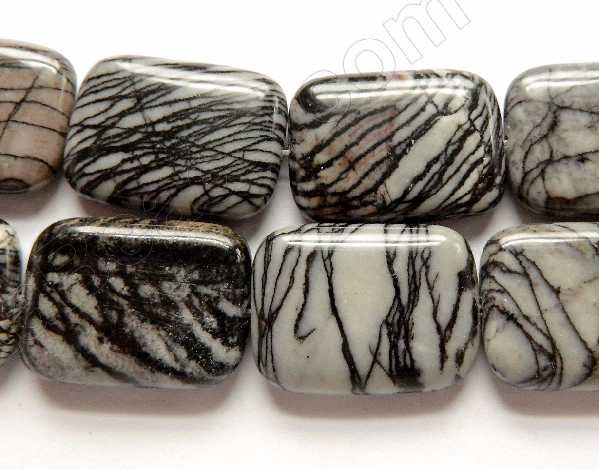 Matrix Jasper  -  Puff Rectangles 16""