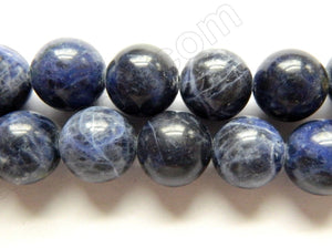 Sodalite AA - Big Smooth Round    16""