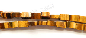 "Tiger Eye AA  -  Bricks  16""    9x6x4mm"