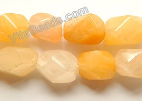 Multi Yellow Jade  -  Machine Cut Nuggets  16""