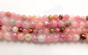 Pink Tourmaline A  -  Small Smooth Round  16""