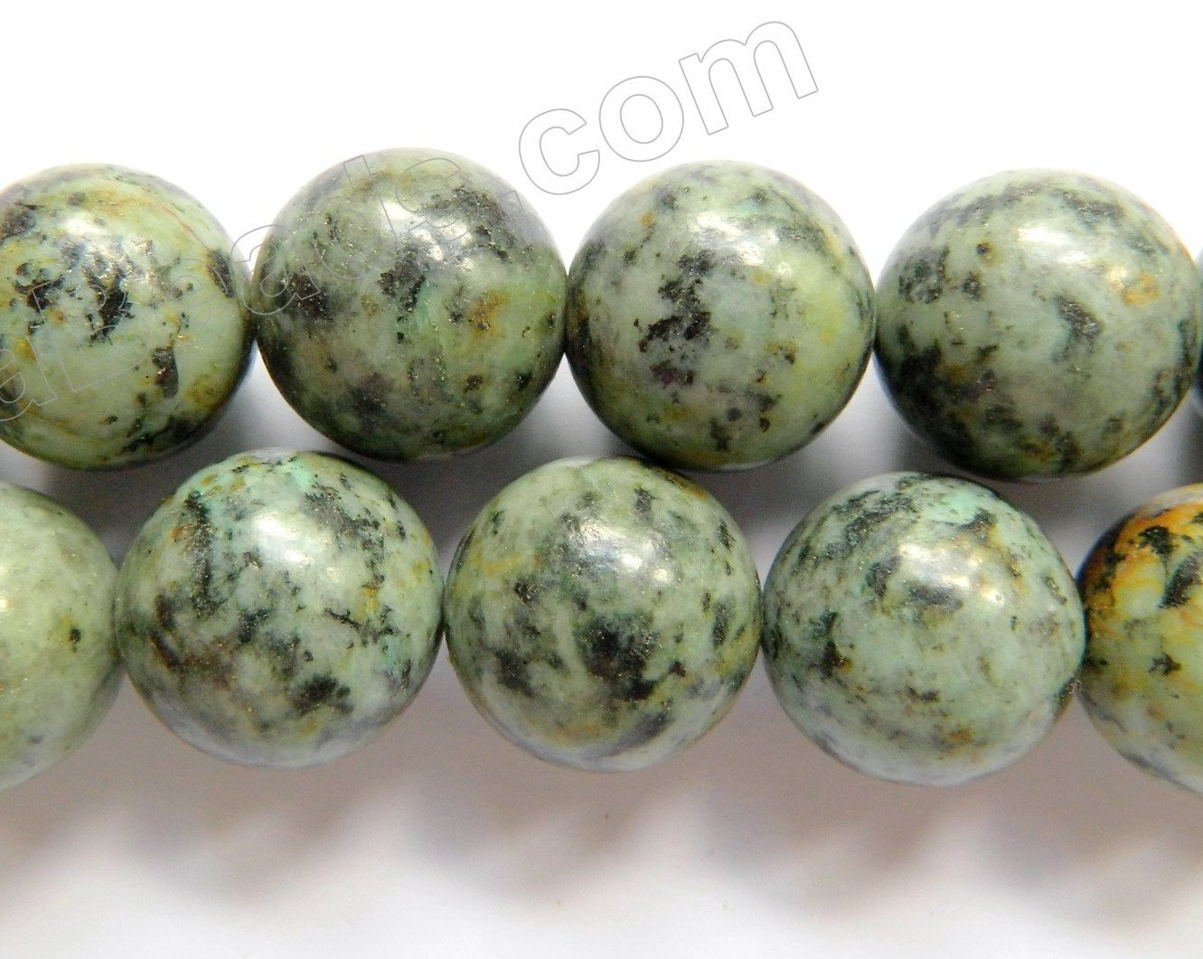 Africa Turquoise  -  19mm Big Smooth Round 16""