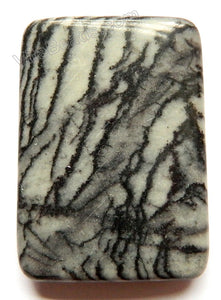 Pendant - Smooth Rectangle Matrix Jasper