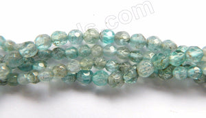 Apatite AB Natural  -  Small Faceted Round  15""