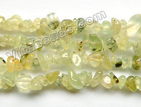 "Prehnite A  -  Chips 36""    6 - 8 mm"