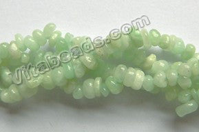 Light Green Opal Natural A  -  5mm Chips 35""