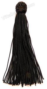 Black Thread Tassel